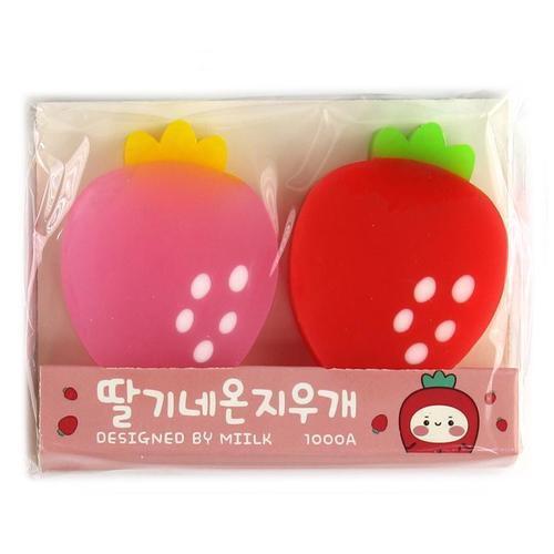 아이윙스 1000 딸기 네온 지우개 2pcs