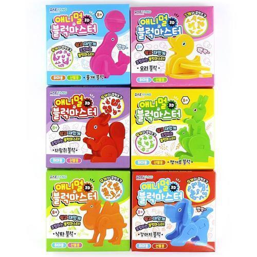 아이윙스 1000 애니멀 3d 블럭마스터 18개입 조립완구 어린이 단체선물