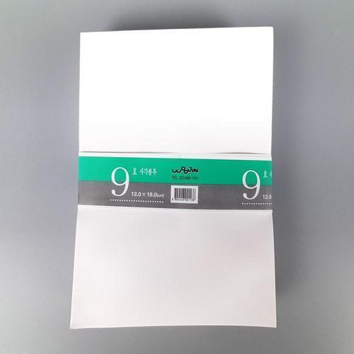 아이윙스 우진 사각 엽서봉투 9호 50매 120mm×180mm